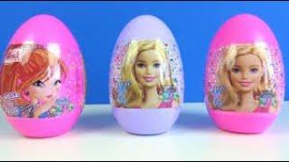 Eflin e Mega Sürpriz Yumurta aldık İçinden Çok Güzel Oyuncaklar Çıktı Barbie Hot Wheels Mega Toy Egg