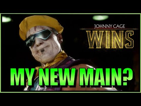 SonicFox -  Tries New Patch Johnny Cage【Mortal Kombat 11】