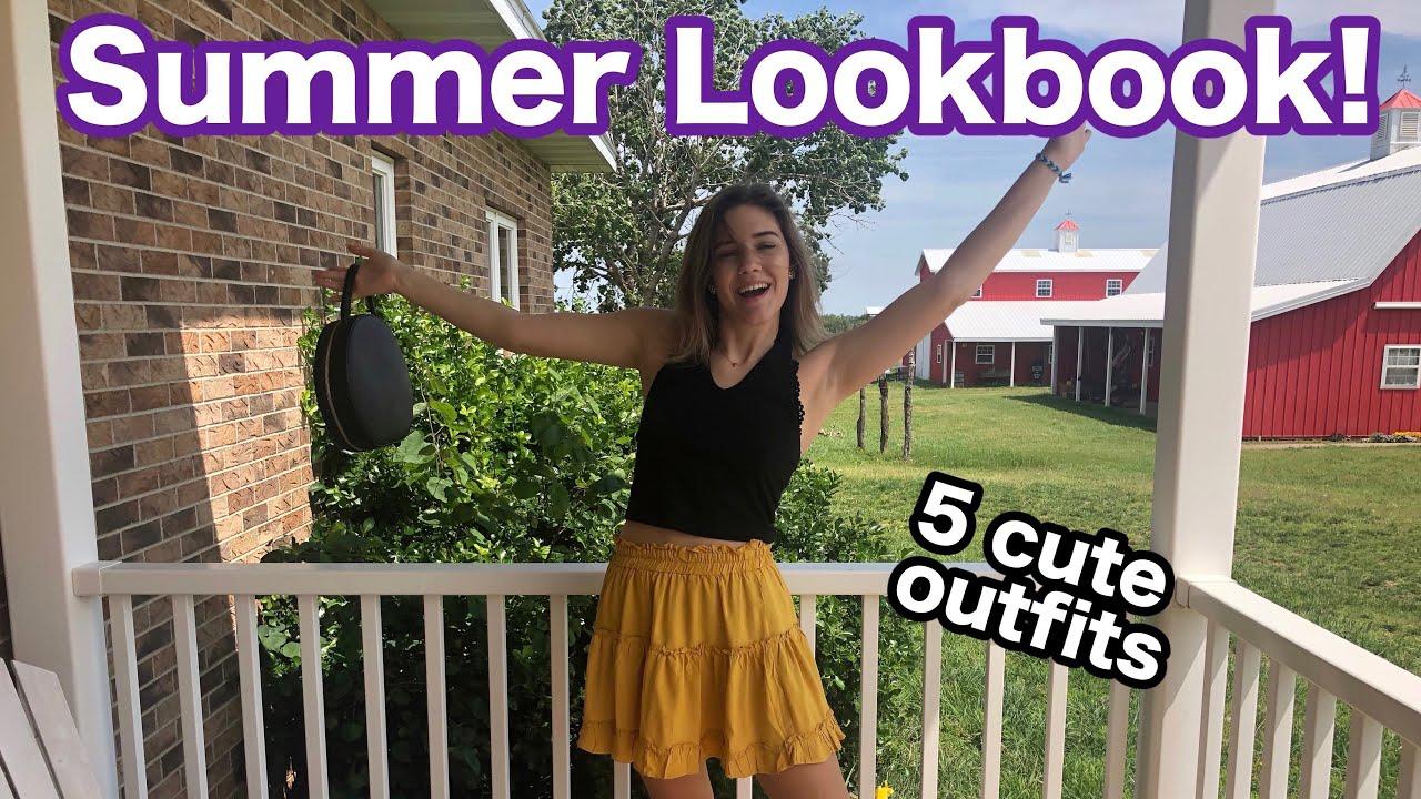 Cute Summer Outfits!! | Summer Lookbook 2019 2