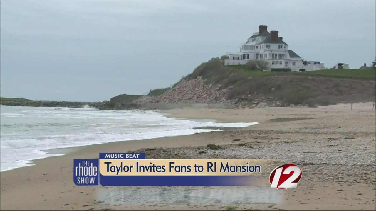 Taylor Swift Invites Fans To Ri Mansion Youtube