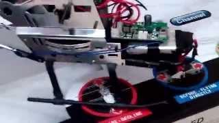 как добавить аккумулятор или увеличить емкость  батареи вертолета на радиоуправлении