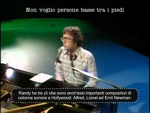 Randy Newman - Short People [SUB ITA]