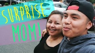 Surprising Mother For Mother's Day!