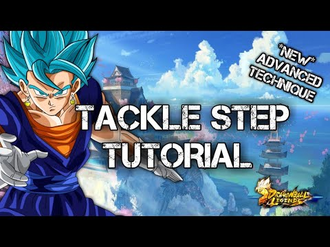 TACKLE STEP TUTORIAL | DRAGON BALL LEGENDS