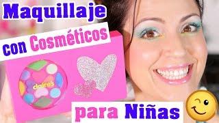 Maquillarse con Cosméticos para Niñas se Puede? Shoppingo - SandraCiresArt
