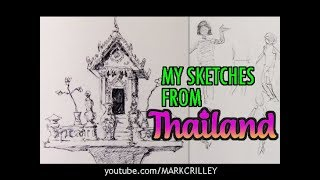 My Sketches from THAILAND