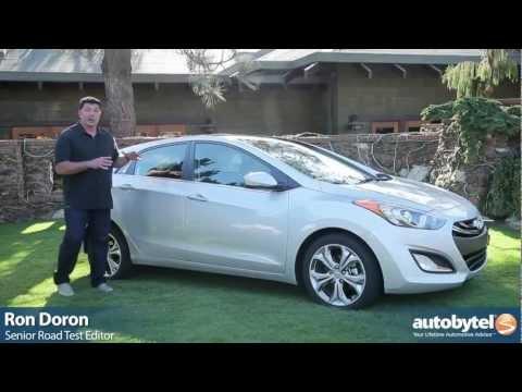 2013 Hyundai Elantra GT Hatchback Compact Car Video Review
