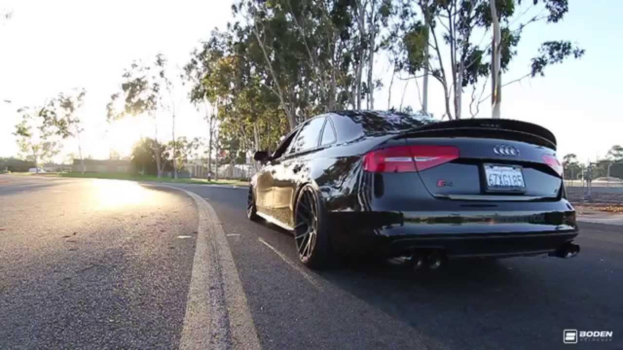 Audi S4 3.0 V6T B8.5 w/ ARMYTRIX CAT-BACK EXHAUST - BEST MODS BRUTAL SOUNDS! - YouTube