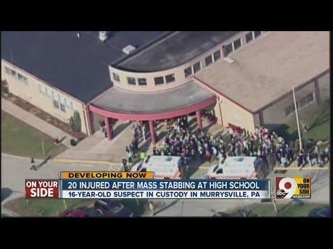 Mass stabbing at Pa. high school