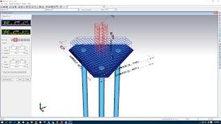 truss analysis of pile caps