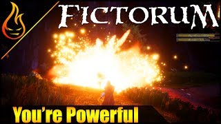 Blowing Up People and Buildings in the Action RPG Fictorum
