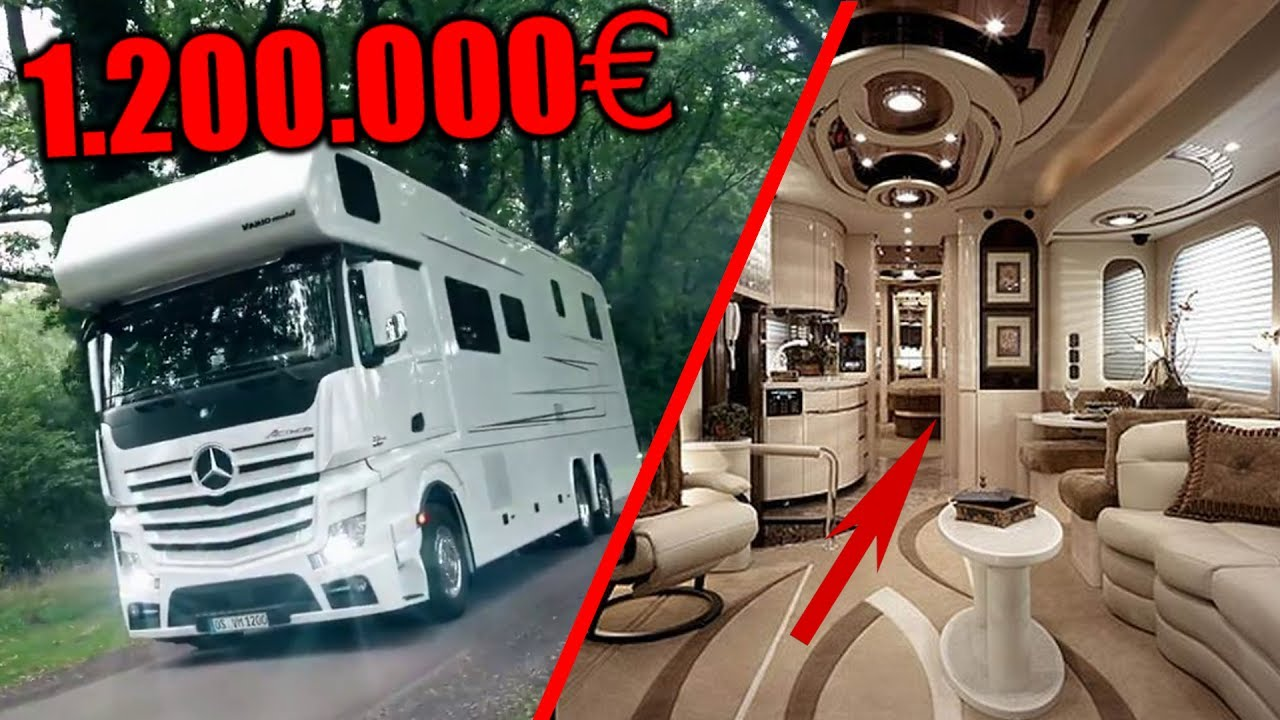 5 luxus wohnmobile der zukunft youtube. Black Bedroom Furniture Sets. Home Design Ideas