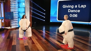 Ellen and Demi Lovato Play Su'Move It, Move It!