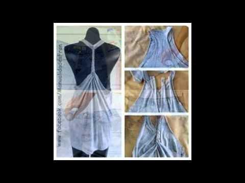 Ideas para reciclar tu ropa vieja youtube - Reciclar ropa manualidades ...