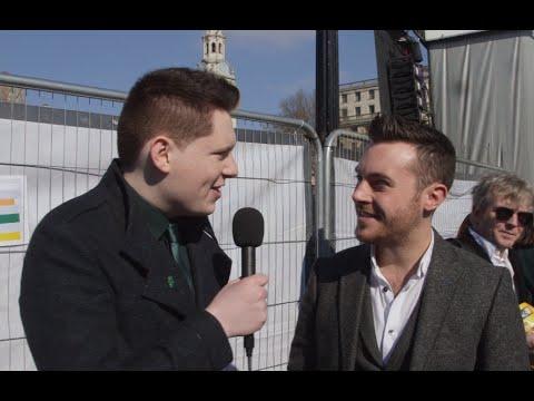 Nathan Carter & Rory O'Connor - London St Patrick's Day Interview
