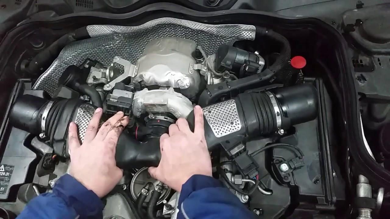 Mercedes E Class Turbo Problems