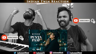 Indian Twin Reaction | DIVINE - Punya Paap (Prod. By iLL Wayno)