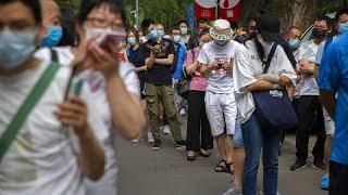 В Китае растет число случаев заражения коронавирусом