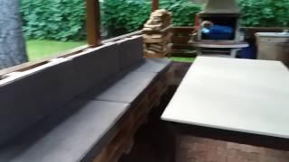 Диван из паллет для беседки от мастерской KingPallet в Москве. Садовая мебель из паллет для дачи(, 2016-07-20T00:09:15.000Z)