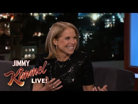 Katie Couric on Taking Jimmy Kimmel for His First Colonoscopy