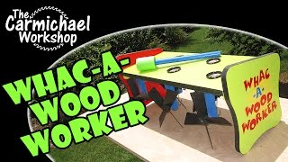Whac-a-woodworker Whirligig Wars 2014 Contest Entry