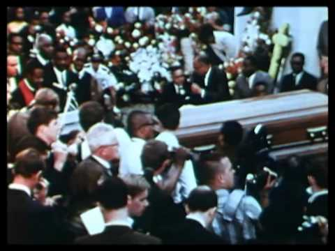Funeral of Dr. Martin Luther King 1968