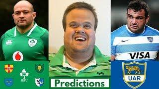 Ireland vs Argentina 2018 Predictions | November Tests Week 2