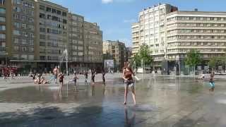 Eté à Bruxelles - Place Flagey