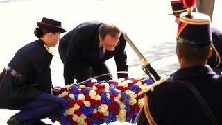 François Hollande commémore le 11 novembre