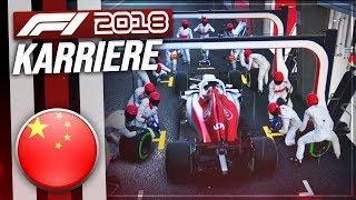 F1 2018 KARRIERE PART 3: WECHSELHAFTES WETTER IN CHINA! [Deutsch/German]