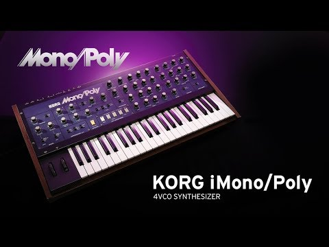 korg imono poly jam with korg gadget 3 imonopoly synths and recife drum machine youtube. Black Bedroom Furniture Sets. Home Design Ideas