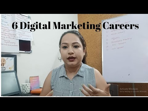 6 Digital Marketing  Careers| Digital Marketing Jobs, Top Jobs In Digital Marketing