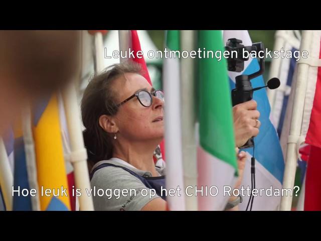 Hoe leuk kan vloggen op het CHIO Rotterdam zijn?