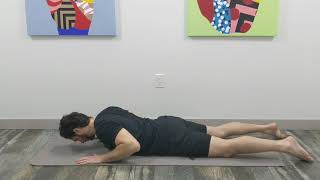 Prone Press Up + Relief Positions
