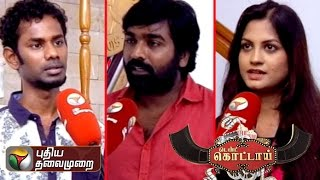 Puthiyathalaimuarai's interview with Aranju Mittai Artist spl video news 01-08-2015