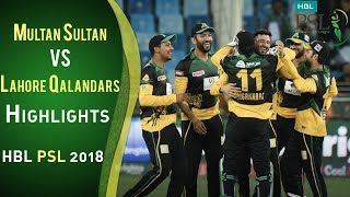 Full Highlights | Multan Sultans Vs Lahore Qalandars | 23 February | Match 3 | HBL PSL 2018 | PSL