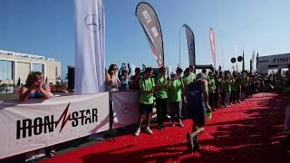 83-летний Борис Кириллов финиширует IRONSTAR 113 SOCHI 2017