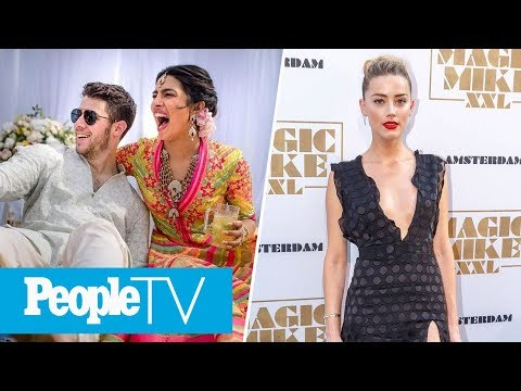 Nick Jonas & Priyanka Chopra Open Up About Their Wedding Amber Heard On Aquaman  PeopleTV