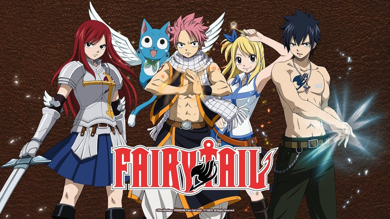 Image result for fairy tail anime