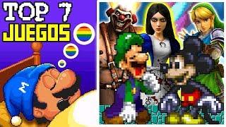 7 Videojuegos donde TODO ES UN SUEÑO