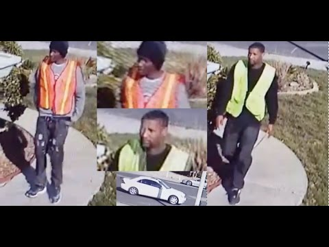 Men posing as construction workers burglarize a Victorville home- VVNG