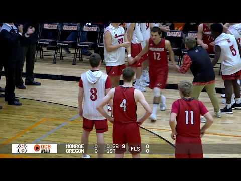 Oregon Varsity Boys Basketball vs. Monroe 12/8/17