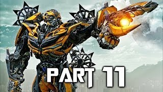 Transformers Rise of the Dark Spark Walkthrough Gameplay Part 11 - Ambushed (PS4)