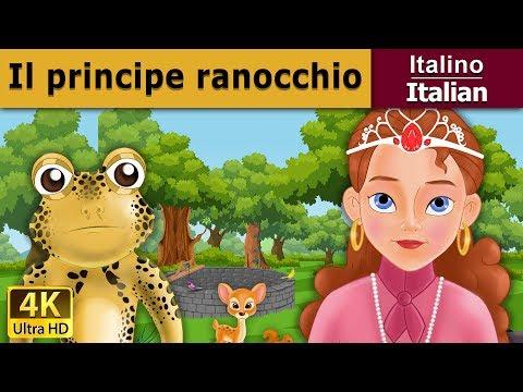 Il principe ranocchio fiaba storie della buonanotte for Buonanotte cartoni
