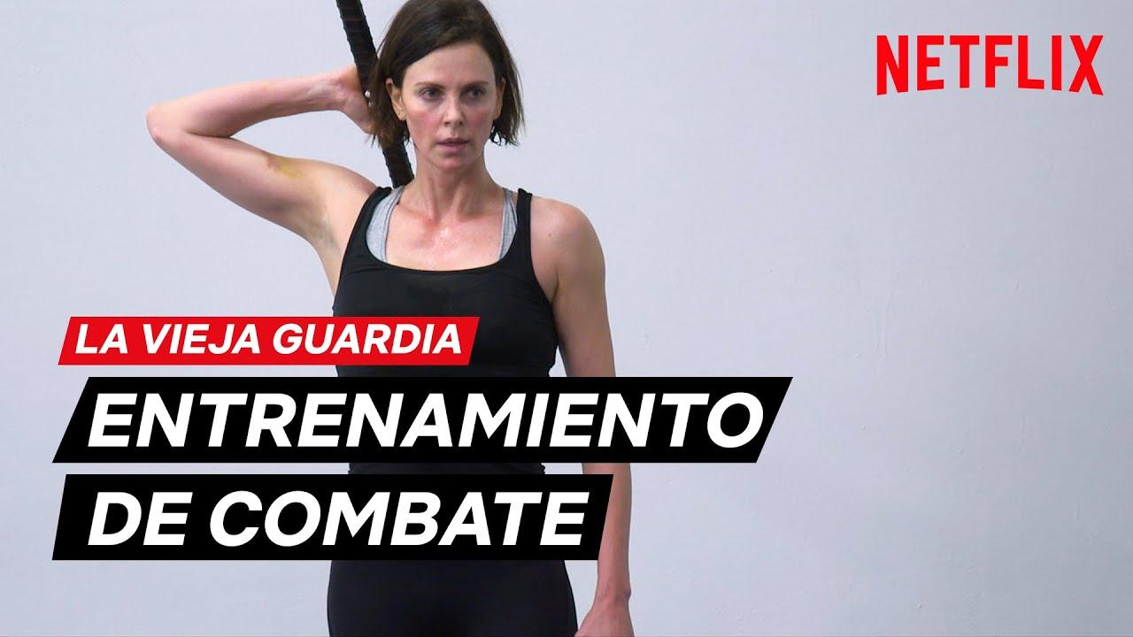 El ENTRENAMIENTO de LA VIEJA GUARDIA   Netflix España