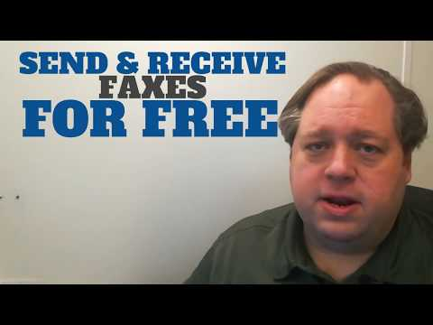 Send & Receive Faxes For Free