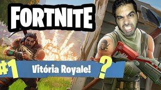 FORTNITE BATTLE ROYALE - QUASE FOI VITÓRIA! - Fortnite Gameplay no PS4 PT-BR