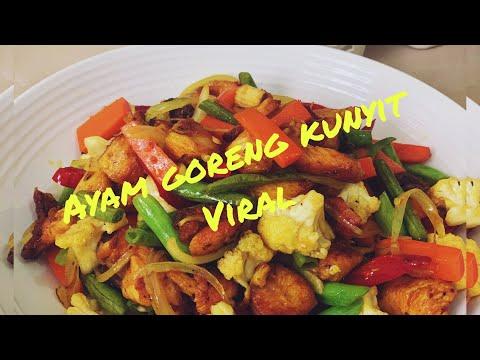 resipi-ayam-goreng-kunyit-viral---modal-paspasan-tapi-bisa-makan-enak!!-@resipimasakanmama