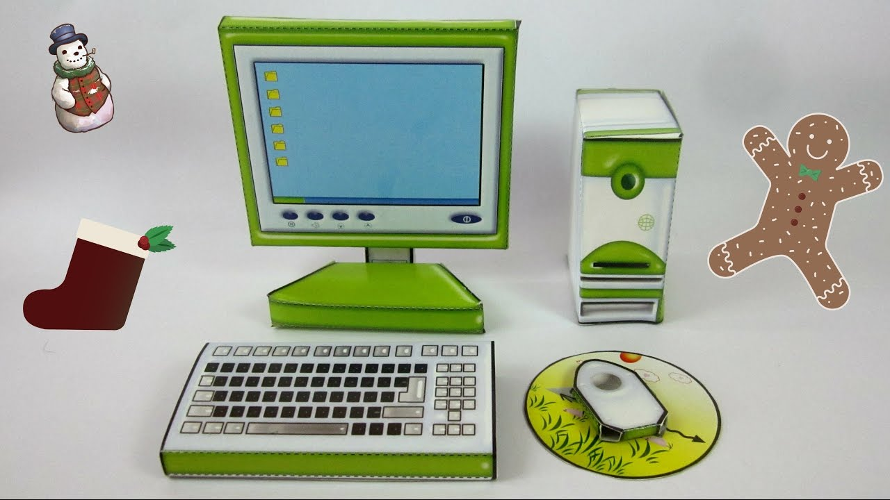 Paper craft for kids diy paper computer ch i tr em for Diy crafts youtube channels