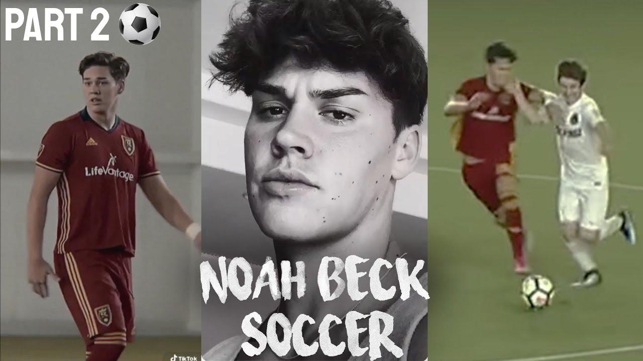 Noah Beck Playing Soccer Part 2 Youtube